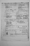 Photo copy of Navy Discharge and Service record of Charles HOPKINS