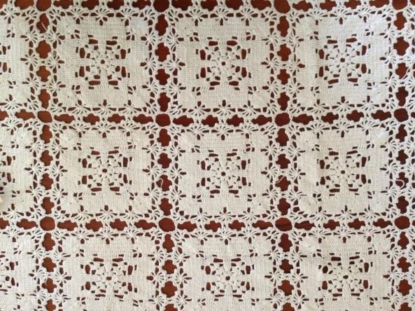 Crochet Bedspread made by Eula Mae HOLDER LINN