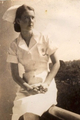 Evelyn R. BARKER as young nurse