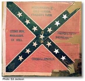 45 GA Regiment Flag of the Civil War
