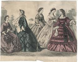 1862 Godey's  Dresses