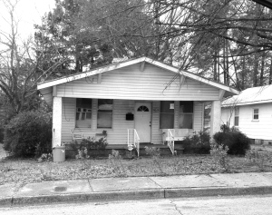 Home of William and Essie BARKER on Starnes Street in Augusta GA