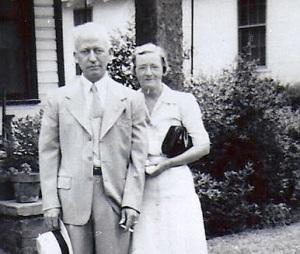 William and Essie BARKER on Starnes Street