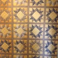 Circa 1900 Quilt made by Odella (Della) HOLDER