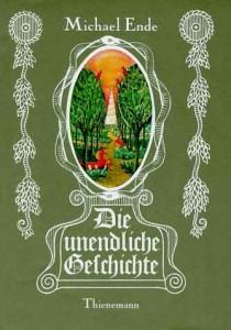 Die unendliche Geschichte - The Neverending Story Book Cover
