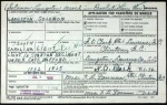 "Application for Solomon LANSTON""S Headstone who fought in the Revolutionary War"