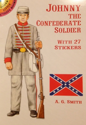 "Cover for ""Johnny The Confederate Soldier"" Booklet"
