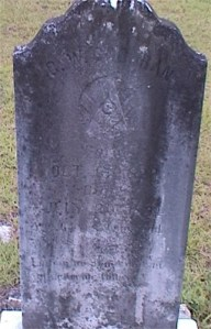 Headstone of George Washington COCHRAN