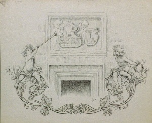 Coat of Arms with Cherubs