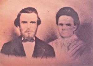 "Western Hardy ""Wheat"" LINN and Martha A. GILREATH"