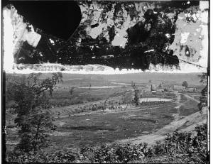 1864 Battlefield of Resaca GA by Matthew Brady