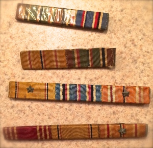 WWIIU.S. Navy Ribbon Bars of Recognition