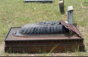 Gravesite of Clabourn M. STYLES