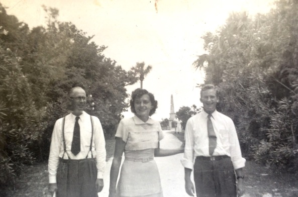Elder Winger, Edna & Charles Hopkins