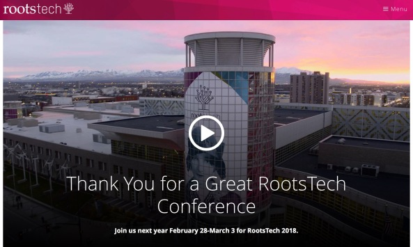 rootstech 2017 cover picture